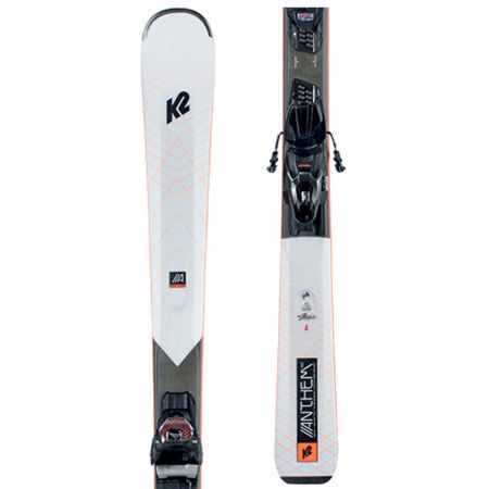 K2 ANTHEM 76X + ER3 10 COMPACT Q - Women's allmountain skis with binding