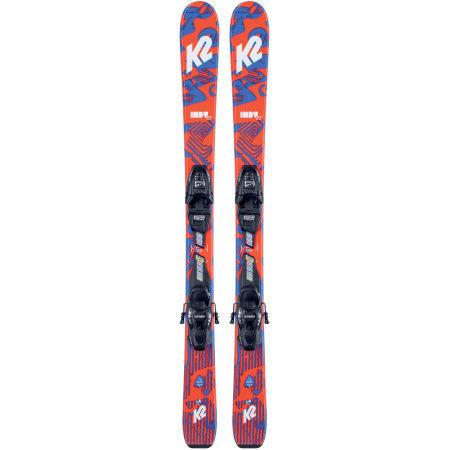 Dětské allmountain lyže s vázáním - K2 INDY FDT 7.0 - 2