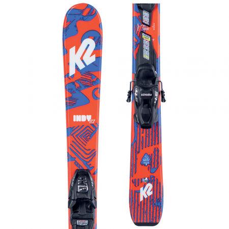 K2 INDY FDT 7.0 - Freestyle Ski mit Bindung für Kinder