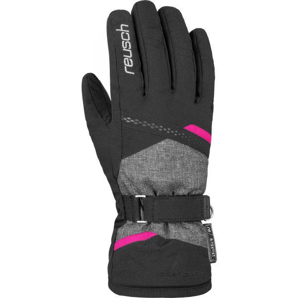Reusch HANNAH R-TEX XT šedá 8.5 - Dámské lyžařské rukavice
