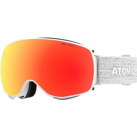Atomic REVENT Q STEREO - Gogle narciarskie