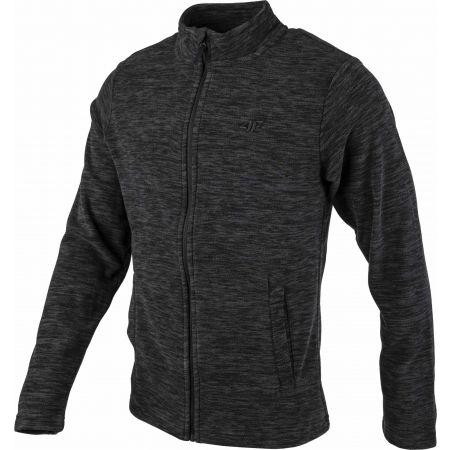 Men's fleece sweatshirt - 4F MENS´S FLEECE - 2