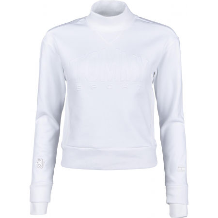 Women's sweater - Tommy Hilfiger CROPPED ARTICULATED CREW - 1