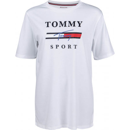 Tommy Hilfiger GRAPHICS  BOYFRIEND TOP - Дамска тениска