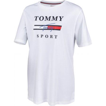 Дамска тениска - Tommy Hilfiger GRAPHICS  BOYFRIEND TOP - 2