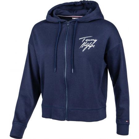 Women's hoodie - Tommy Hilfiger FZ HOODIE - 2