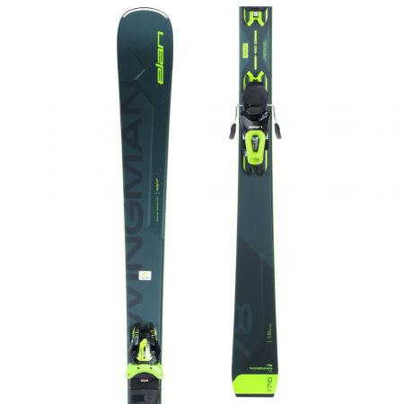 Elan WINGMAN 78 TI PS + ELS 11 - Мъжки ски за спускане
