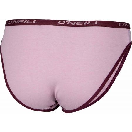 Dámské spodní kalhotky - O'Neill WOMEN BIKINI SLIP PLAIN 2-PACK - 4