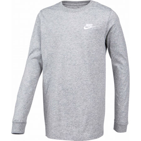 Блуза за момчета - Nike NSW TEE LS EMB FUTURA B - 2