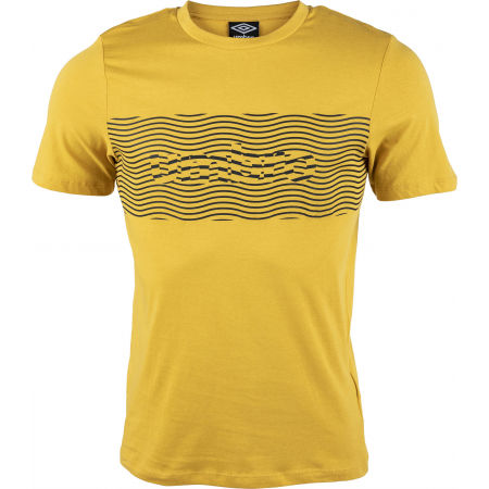 Umbro FW WARPED PANEL GRAPHIC TEE - Pánske tričko