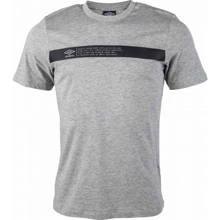Umbro FW LINEAR LOGO TAB GRAPHIC TEE - Pánske tričko