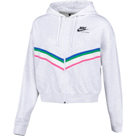 Bluza damska - Nike NSW HRTG FZ FLC W - 2