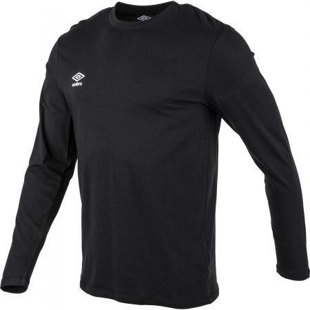 Pánské triko - Umbro FW SMALL LOGO LS TEE - 2