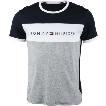 Tommy Hilfiger CN SS TEE LOGO FLAG - Men's T-Shirt