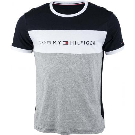 Tommy Hilfiger CN SS TEE LOGO FLAG - Herrenshirt