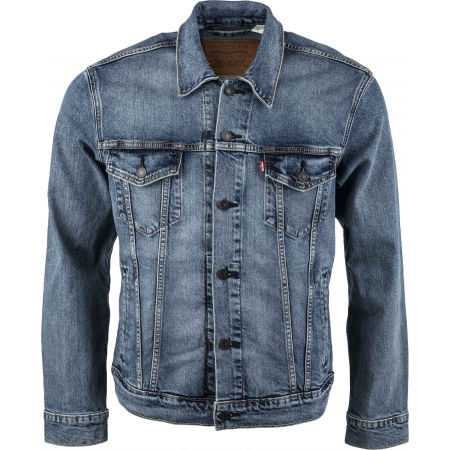 Pánska jeansová bunda - Levi's THE TRUCKER JACKET CORE - 1