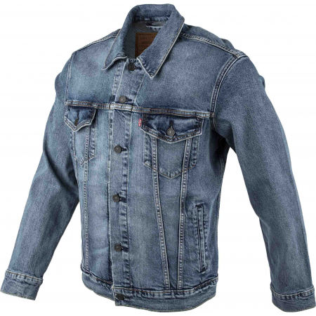 Pánska jeansová bunda - Levi's THE TRUCKER JACKET CORE - 2