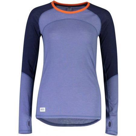 MONS ROYALE BELLA TECH LS - Dámske funkčné tričko z merino vlny
