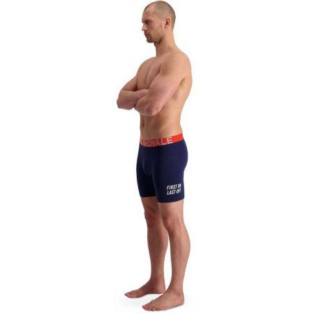 Pánské boxerky z merino vlny - MONS ROYALE HOLD'EM - 4