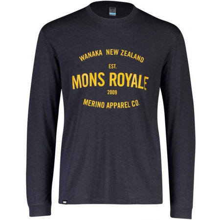 MONS ROYALE ICON LS - Long-sleeved Merino T-shirt