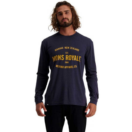 Long-sleeved Merino T-shirt - MONS ROYALE ICON LS - 3