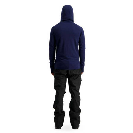 Men's merino wool functional sweatshirt - MONS ROYALE TRAVERSE MIDI HALF ZIP - 6