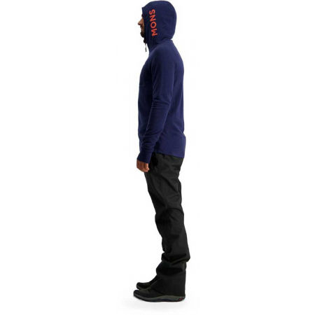 Men's merino wool functional sweatshirt - MONS ROYALE TRAVERSE MIDI HALF ZIP - 7