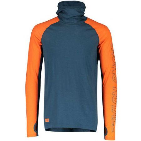 MONS ROYALE TEMLE TECH FLEX - Pánské funkční triko z merino vlny