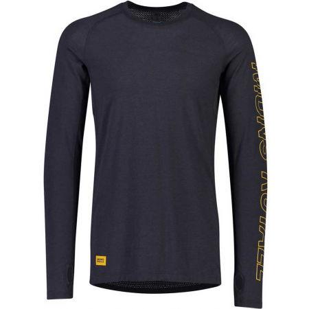 MONS ROYALE TEMPLE TECH LS - Férfi funkcionális póló merinó gyapjúból