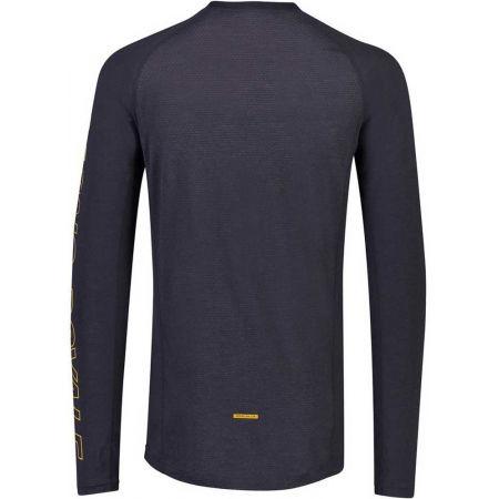 Men's merino wool functional T-shirt - MONS ROYALE TEMPLE TECH LS - 2