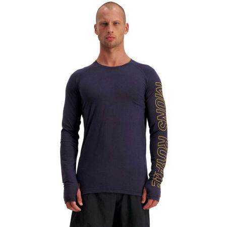 Men's merino wool functional T-shirt - MONS ROYALE TEMPLE TECH LS - 4