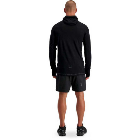 Men's merino wool functional T-shirt with long sleeves - MONS ROYALE TEMPLE TECH - 6