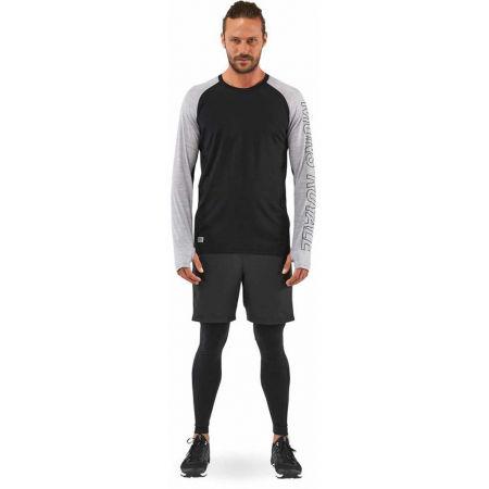 Men's merino wool functional T-shirt - MONS ROYALE TEMPLE TECH LS - 5