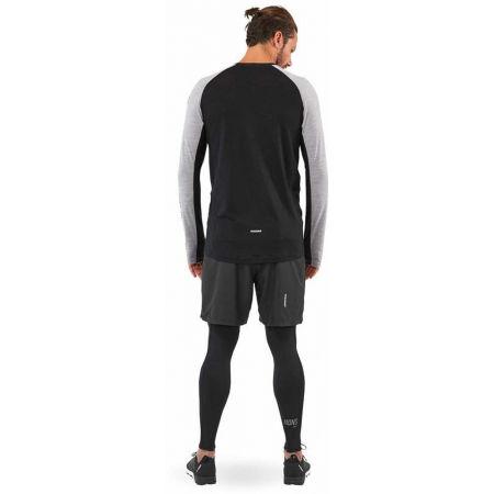 Men's merino wool functional T-shirt - MONS ROYALE TEMPLE TECH LS - 6