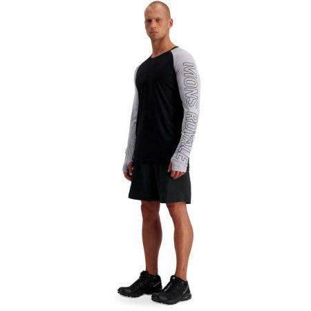 Men's merino wool functional T-shirt - MONS ROYALE TEMPLE TECH LS - 7
