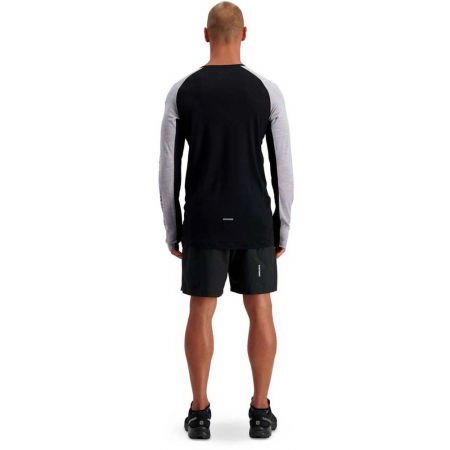 Men's merino wool functional T-shirt - MONS ROYALE TEMPLE TECH LS - 8
