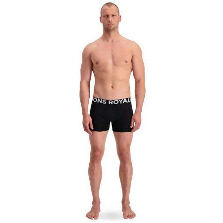 Pánské boxerky z merino vlny - MONS ROYALE HOLD'EM SHORTY - 4