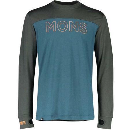 MONS ROYALE YOTEI TECH LS - Pánske funkčné tričko z Merina