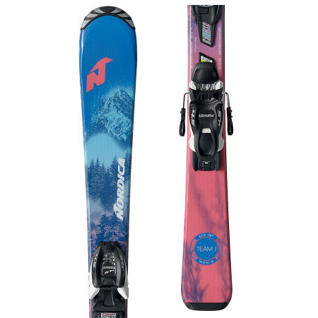 Nordica TEAM J FDT+JR 7.0FDT - Girls' downhill skis