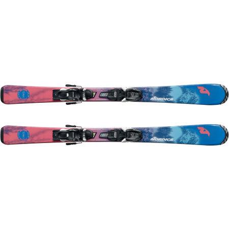 Dievčenské zjazdové lyže - Nordica TEAM J FDT+JR 7.0FDT - 2