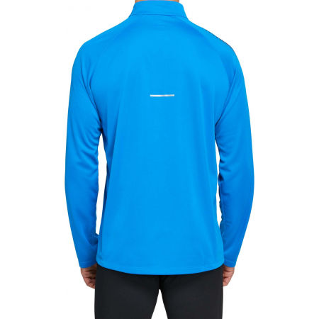 Мъжка блуза - Asics ICON LS 1/2 ZIP - 2