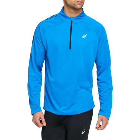 Asics ICON LS 1/2 ZIP - Men's T-shirt