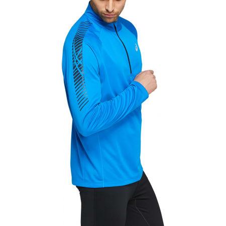 Мъжка блуза - Asics ICON LS 1/2 ZIP - 3