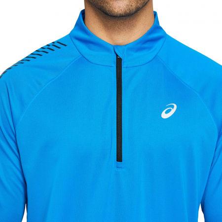 Мъжка блуза - Asics ICON LS 1/2 ZIP - 4