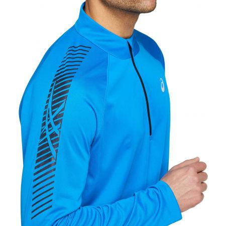 Мъжка блуза - Asics ICON LS 1/2 ZIP - 5