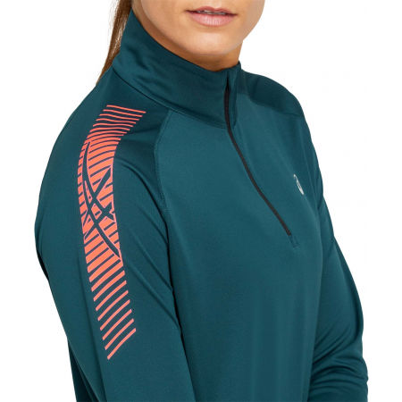 Women's sports sweatshirt - Asics ICON LS 1/2 ZIP - 4