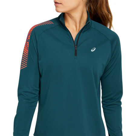 Women's sports sweatshirt - Asics ICON LS 1/2 ZIP - 1