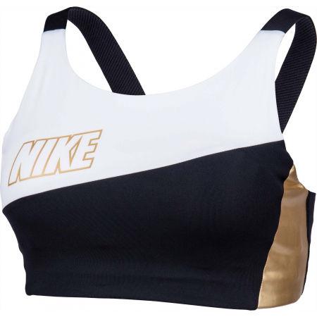 Dámská sportovní podprsenka - Nike SWOOSH MTLC LOGO BRA PAD - 2