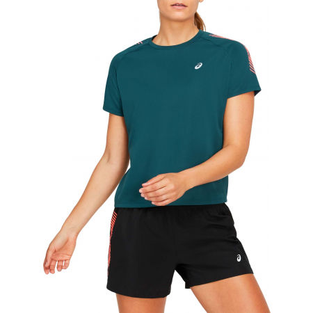 Women's sports T-shirt - Asics ICON SS TOP - 1