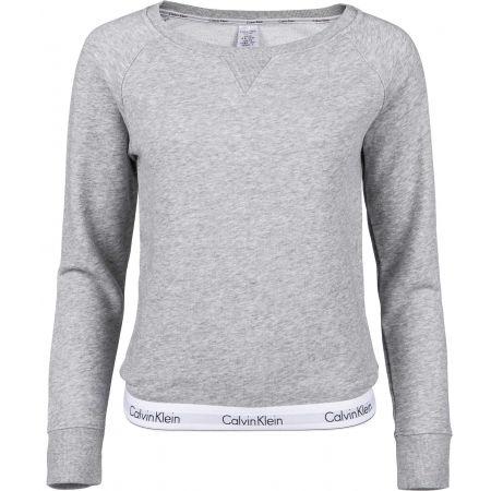 Dámská mikina - Calvin Klein TOP SWEATSHIRT LONG SLEEVE - 1